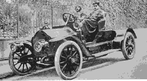 Proust in automobile